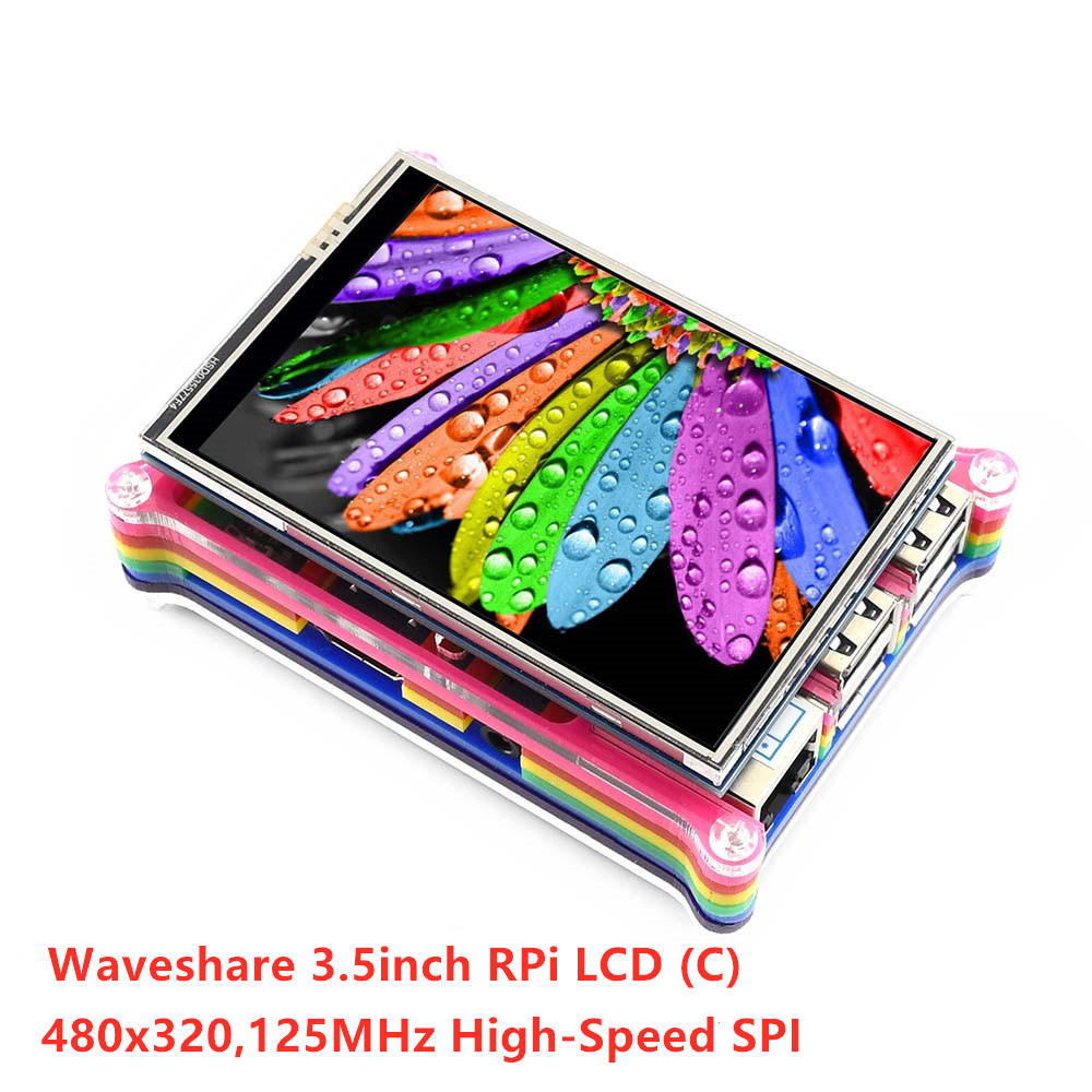 Waveshare 480x320, 3.5 inch Touch Screen Tablet TFT LCD Ontworpen voor Raspberry Pi, 125MHz High Speed SPI-in Demo bord van Computer & Kantoor op AliExpress - 11.11_Dubbel 11Vrijgezellendag 3