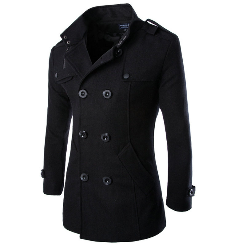 Popular Mens Wool Coats Sale-Buy Cheap Mens Wool Coats Sale lots ...