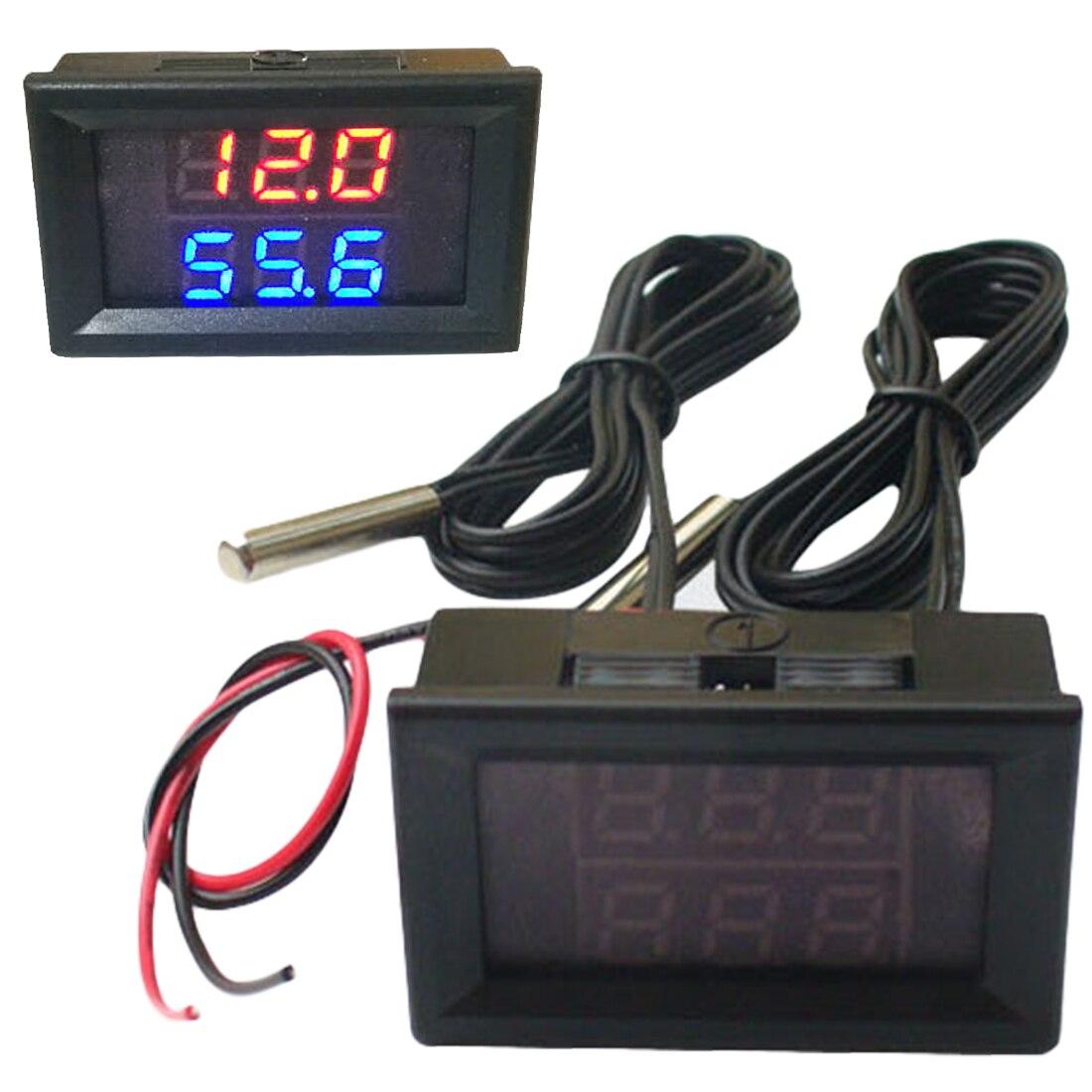 -50-120c Digitale Einstellbare Temperatur Controller Mini Mikrocomputer Thermostat Regler Dc 4-28 V
