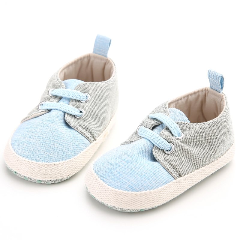 Chaussures Bébé prewalker Casual Nouveau-né Infant Nursery enfant unisexe Bleu foncé 13cm ABgCMfu3Kc