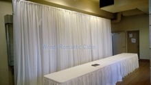 10ft * 20ft Pure White stage curtain wedding backdrop Event Supply