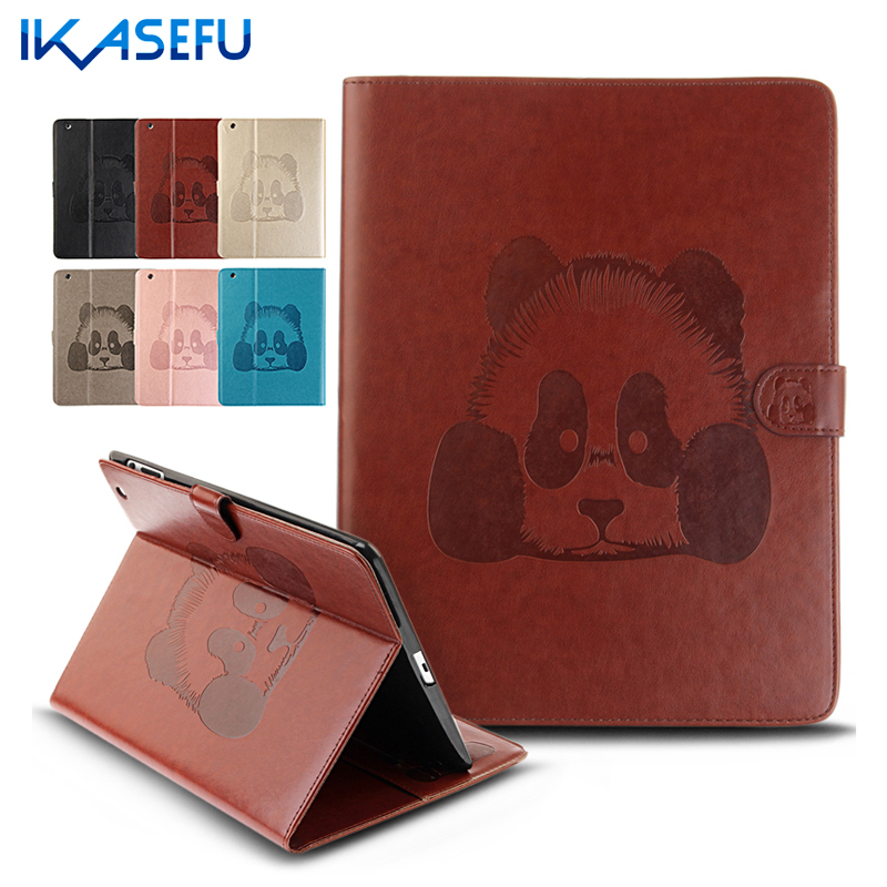 IKASEFU Filp Stand Case For Apple ipad 2 3 4 9 7 inch PU Leather Cover