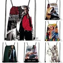 Custom Tank This Is How I Feel Drawstring Backpack Bag Cute Daypack Kids Satchel Black Back