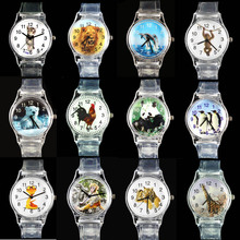 Dolphin/ Cat/ African Lion/ Tiger/ Penguin/ Giraffe/ Snake/ Rooster/ Monkey/ Polar Bear/ China Panda Sport Quartz Wrist Watch