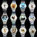 Dolphin/Katze/African Lion/Tiger/Pinguin/Giraffe/Schlange/Hahn/Affe/Polar bär/Panda Uhren Sport Quarz armbanduhr-in Kinderuhren aus Uhren bei