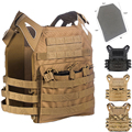 Body Armor Plate Carrier Chaleco Táctico JPC Munición militar Airsoft Paintball Revista Chest Rig Sistema de Carga Equipo de Oso