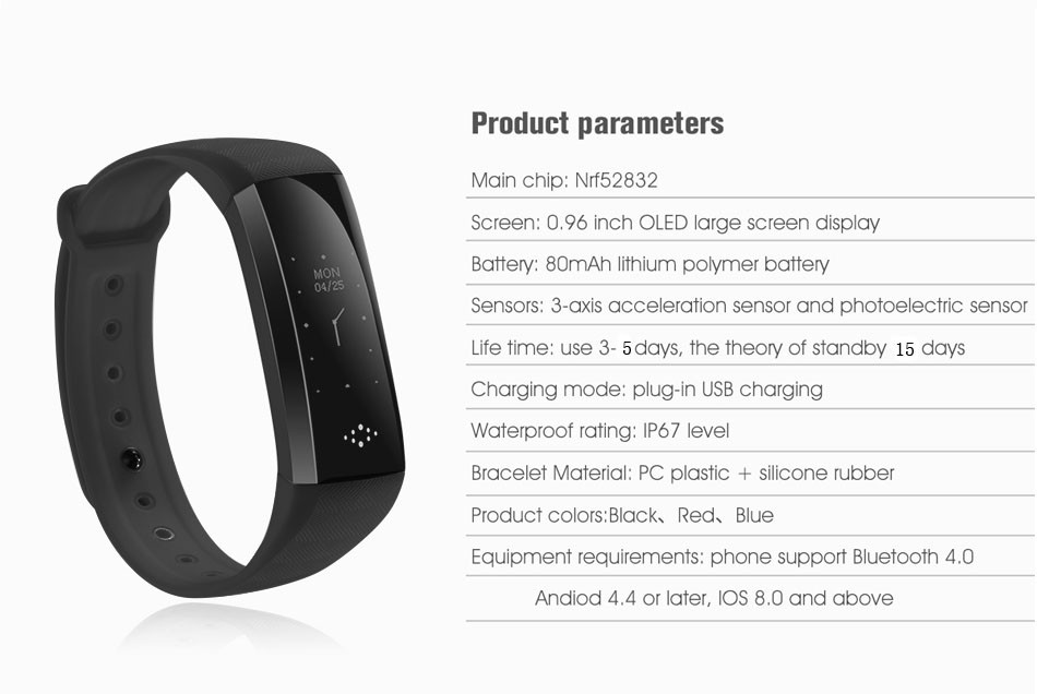 New M2Z smart band fitness tracker wristband heart monitor intelligent blood pressure wrist bracelet gift Black Friday deals