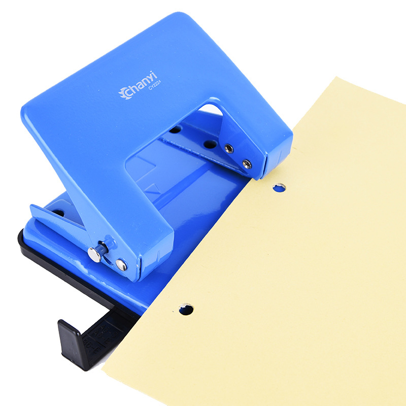 2 Holes Punch Metal Paper Cutter A4 Loose-Leaf Circle Punches Scrapbooking Puncher Machine DIY Tools Office Binding Stationery