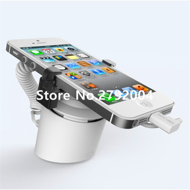 5 set/lot Column type independent anti-theft security alarm cellphone display stand holder цены