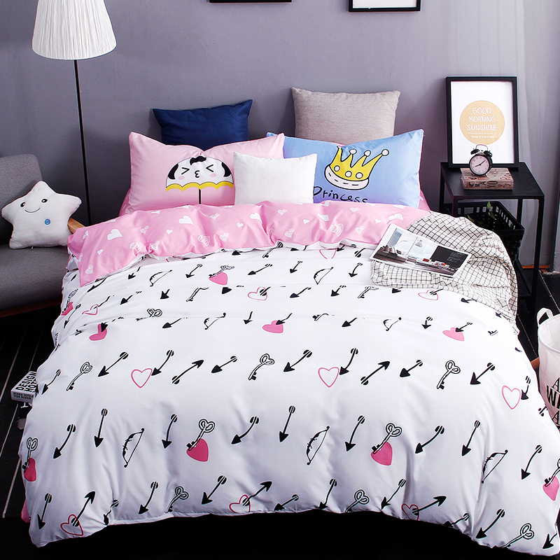 Heart Bed Sheets Promotion-Shop for Promotional Heart Bed Sheets ...