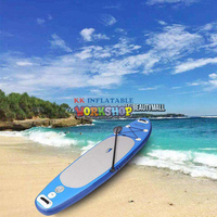 Inflatable Stand Up Paddle Board Sup Board Surfboard Kayak Surf with Backpack,leash,pum