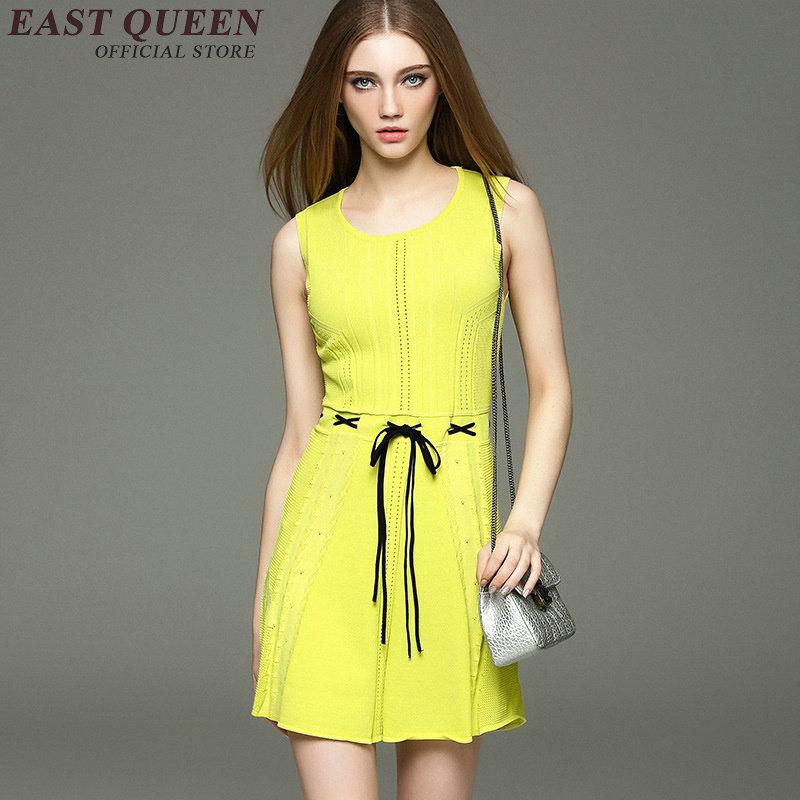 Short Yellow Sundresses for Women