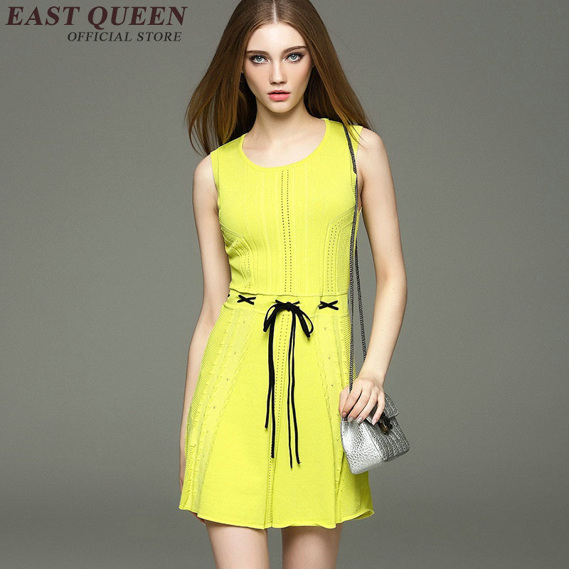 Short Yellow Sundresses for Women