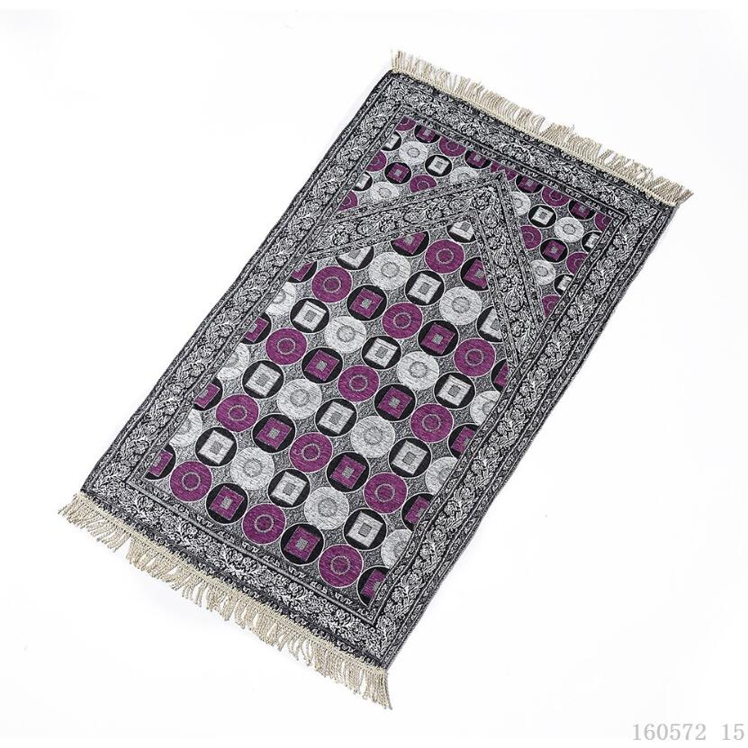 Image 4 - Islam Muslim Prayer Rug for Living Room Chenille Prayer Blanket  Moroccan Persian Rug Floor Outdoor Mat Bedroom Wood Floor CarpetIslamic  Clothing