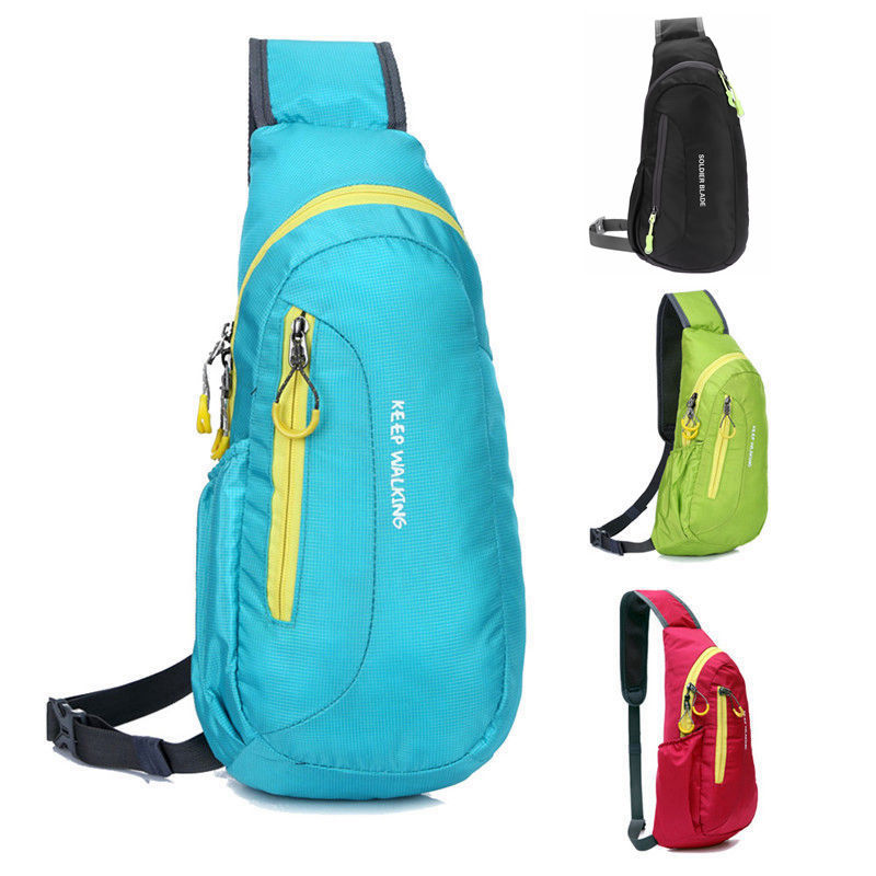 4 Colors Sport Backpacks Waterproof Outdoor Travel Backpack Package Chest Bag for Women Men Shoulder Rucksack Cycling Sports Bag Рюкзак