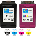 Listing Hot 2PK Compatible For HP301 Ink cartridges, For HP 301 for HP DeskJet 3050se 1050A 2050A printer models Factory outlets