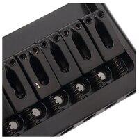 6 String Non Tremolo Hardtail Electric Guitar Bridge Saddle For Strat Stratocaster Tele Telecaster Guitar Replacement