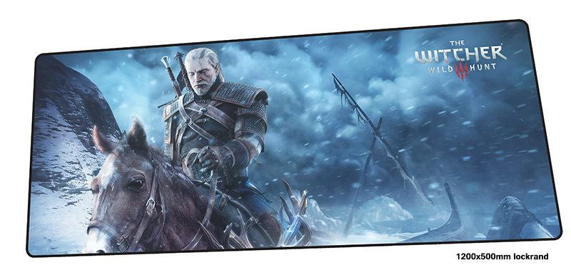 witcher mouse pad 1200x500mm mousepads HD pattern gaming mousepad gamer Fashion large personalized mouse pads keyboard pc pad ninjas in pyjamas mouse pad 1200x500mm mousepads cartoon gaming mousepad gamer gorgeous personalized mouse pads keyboard pc pad