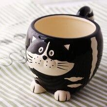 700ml Large Capacity Ceramic Cat Cup Creative 3D Owl Cartoon Animal Office Water Cute Milk Breakfast Cups and Mugs Coffee