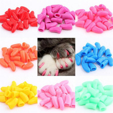 20 Grains Rubber Pet Toy Anti Scratch and Prevention of Nail Sleeve for Dog Cat Supplies Accessories