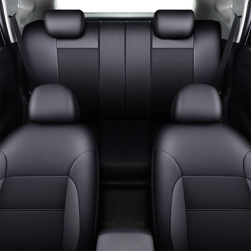 Housse de siège Auto accessoires protecteur de siège pour toyota avensis t25 t27 caldina camry 40 50 2007 2008 2009 2012 2018 vios - 4