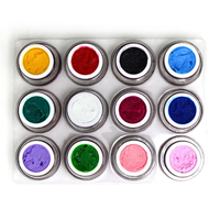 3D Acrylic Nail Gel Gorgeous 12 Colors Soak Off Long Lasting Gel Nail Polish 8ML UV Gel Manicure Nail Art Tools