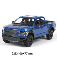 High quality 1:24 F150 Ford 2017 zinc alloy pickup model car,collection and gift metal simulation off road model,free shipping