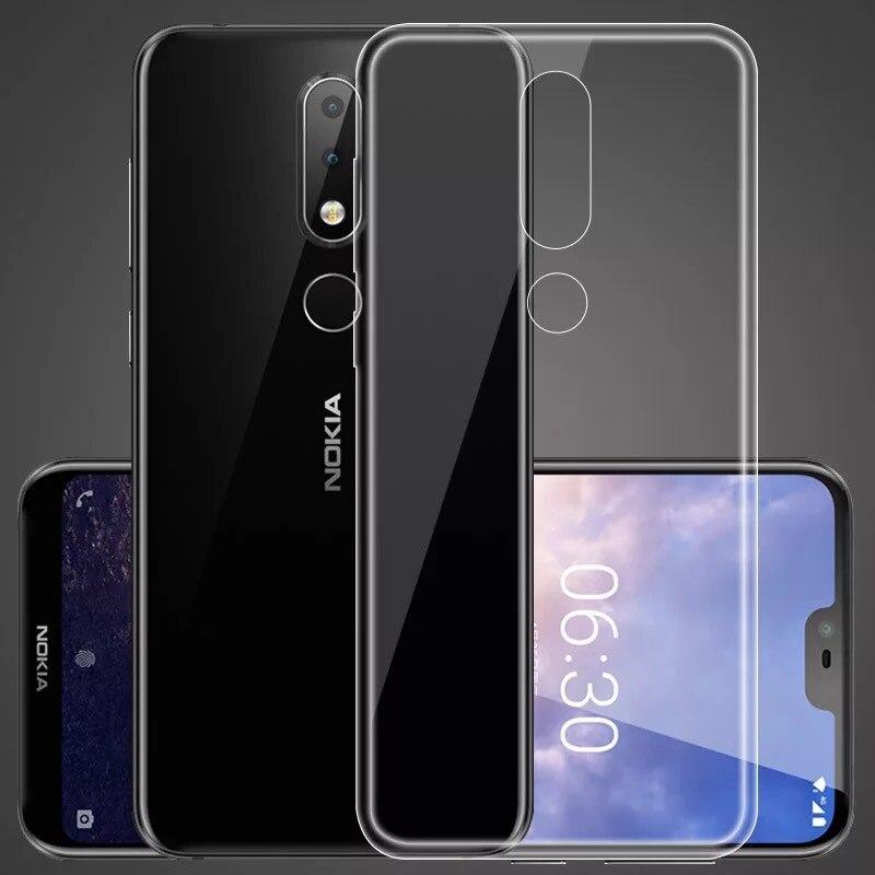 Transparent Soft TPU Case For Nokia 5 7.1 6 2 3 3.1 5 5.1 6.1 7 Plus 2018 950 3310 Cover For Nokia 8 Case Back Coque Fundas Capa nokia 8 new 2018
