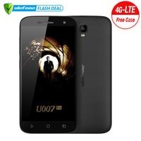 U lefone U007 Proโทรศัพท์มือถือ5นิ้วHD 1280x720 MTK6735 Q Uad Core Android 6.0 1กิกะไบต์RAM 8กิกะไบต์รอม8MP CAM Dual Sim 4กรัมมาร์ทโฟน