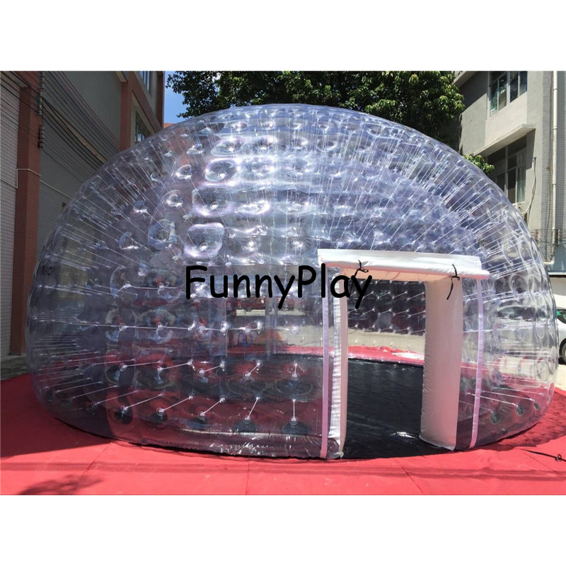 inflatable tent for garden,inflatable tents for exhibition,luxury air tight inflatable house tents,clear camping bubble tent glow in the dark saw skull head style mask transparent