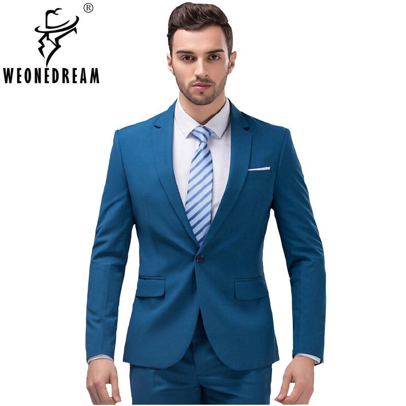 Online Get Cheap 2 Button Slim Fit Suit -Aliexpress.com | Alibaba ...