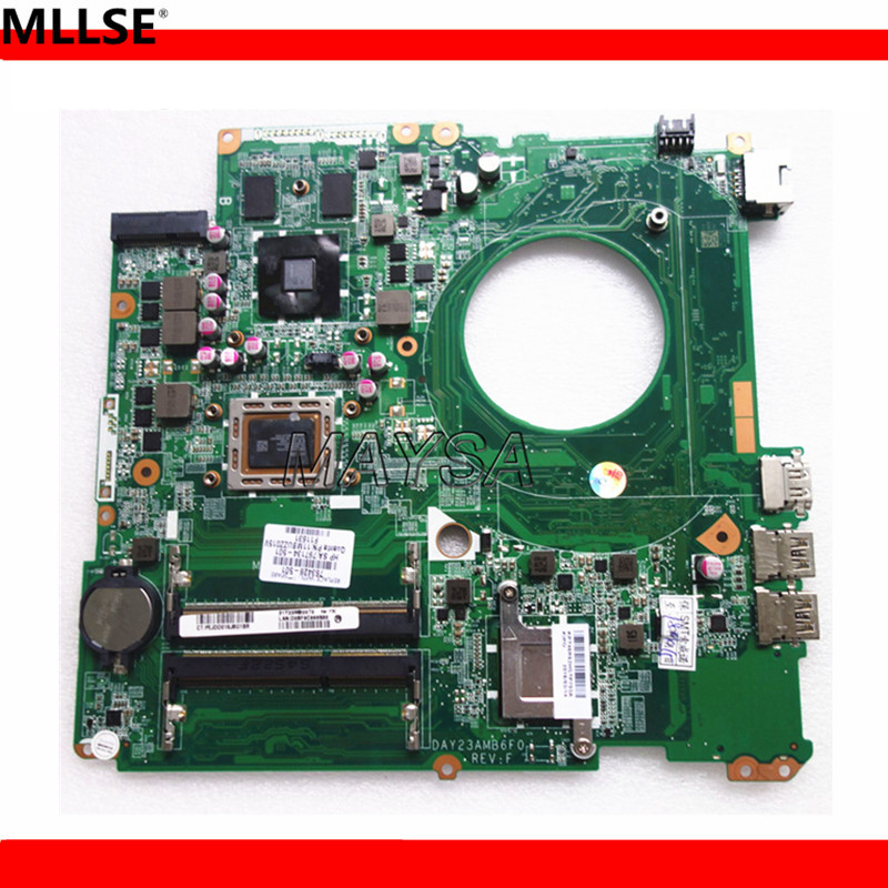 DAY23AMB6F0 REV:F laptop motherboard 763428-501 FOR HP PAVILION 17-F series mainboard notbook PC 260M/2GB A10-5745M nokotion laptop motherboard for hp pavilion 17 17 f a10 5745m day23amb6f0 763428 501 763428 001 graphics 260m 2gb