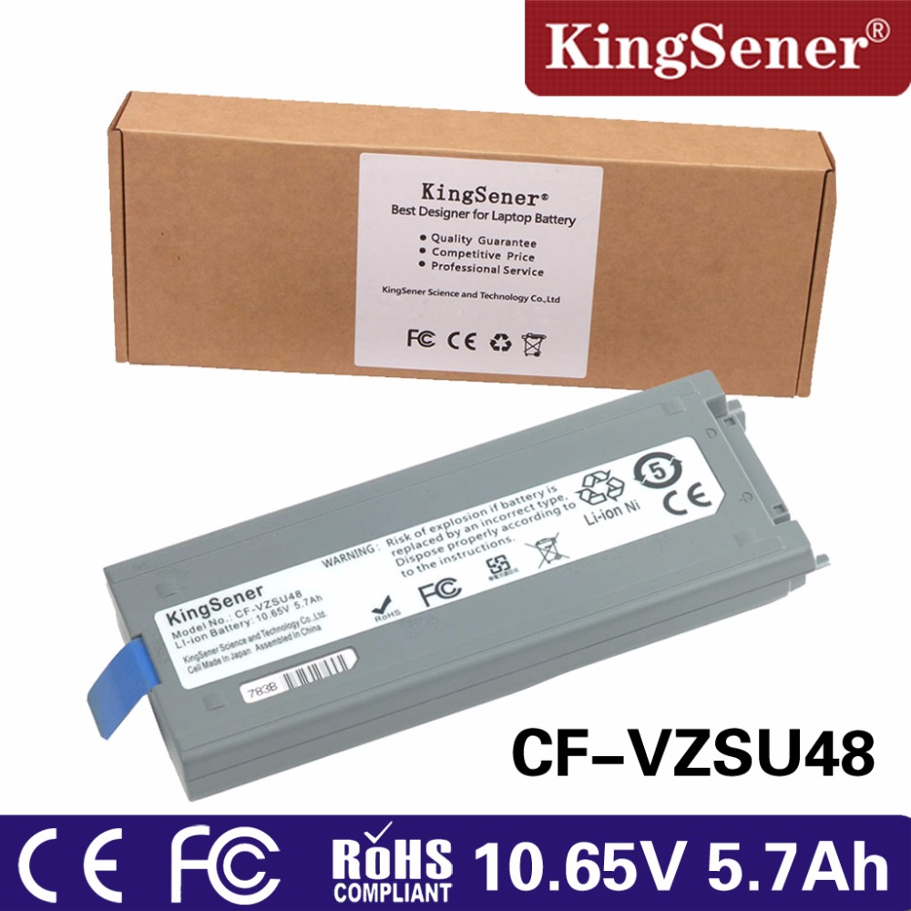 KingSener Japanese Cell New CF-VZSU48 Battery for Panasonic CF-VZSU48 CF-VZSU48U CF-VZSU28 CF-VZSU50 CF-19 CF19 Toughbook new notebook laptop keyboard for panasonic toughbook cf y7 cf y8 cf y9 keyboard japanese jp layout