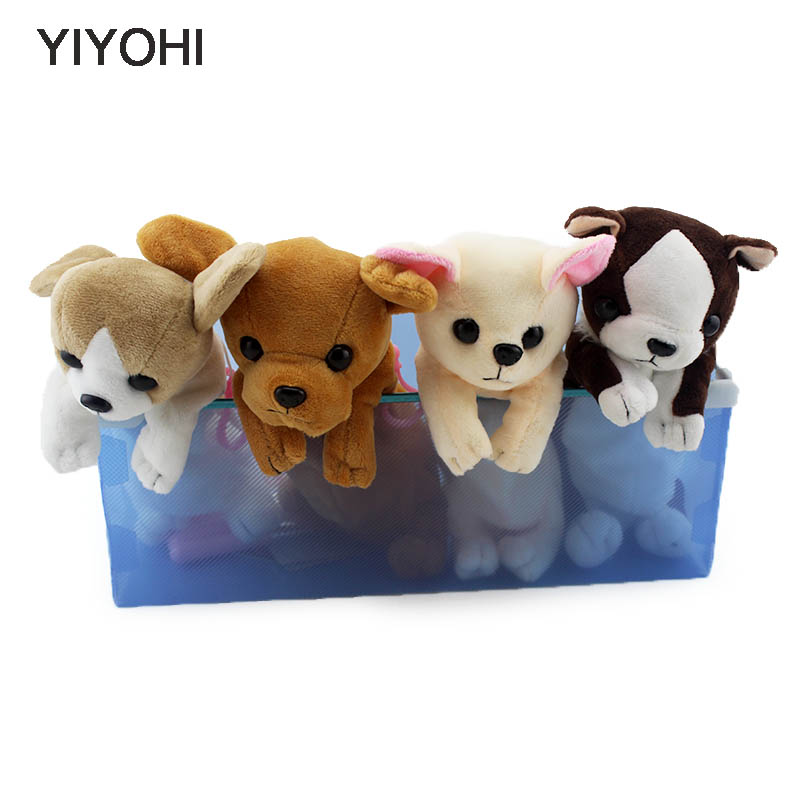 YIYOHI New Novelty Style Three-dimensional Dog Zipper Plush Coin Purse Kawaii Children Coin Purse Women Wallet Mini Handbag