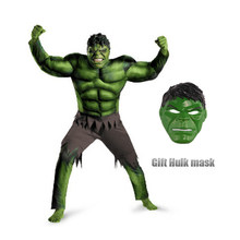 1724e60c2418 New Avengers Hulk Costumes for kids/ Fancy dress/Halloween Carnival Party  Cosplay Boy Kids