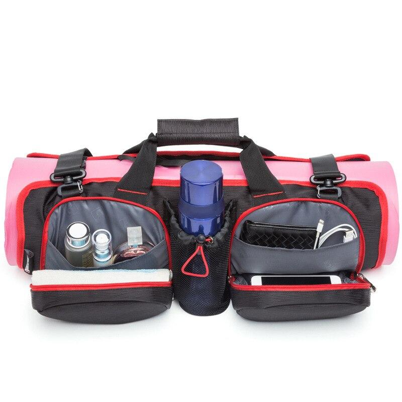 2018 femmes Yoga sac Yoga tapis stockage Portable sac à bandoulière dames Sport sac pour Gym Fitness sac grande capacité