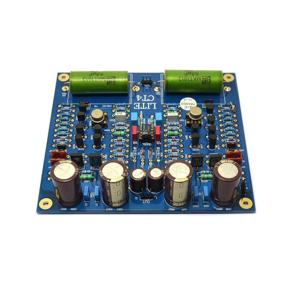 LITE CT4 MM Phono Stage Amplifier Circuit Board Finished BoardLITE CT4 MM Phono Stage Amplifier Circuit Board Finished Board