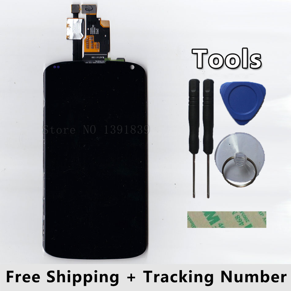 ФОТО LCD Display + Touch Screen Digitizer Glass Panel For LG Optimus E960 Google Nexus 4 Nexus4