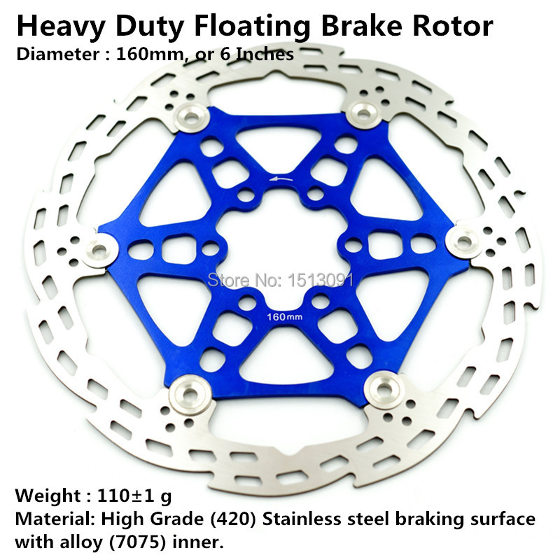 NEW X1 Disc Brake Floor Rotor 160 mm DOWN HILL ROTOR 1 PCS me 6 - Çiklizmit - Foto 2