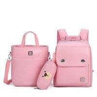 Geniune Japanese Backpack Randoseru Leather Backpack For Boys Girls Primary High Quality Kids School Bags Korean