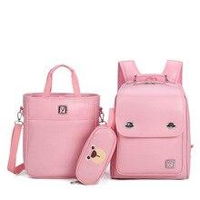 Geniune Japanese Backpack Randoseru Leather For Boys Girls Primary High Quality Kids School Bags Korean Style Backpacks