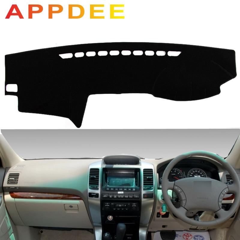 APPDEE For Toyota Land Cruiser Prado J120 2003 2004 2005 2006 2009 Car Styling Covers Dashmat Dash Mat Sun Shade Dashboard Cover