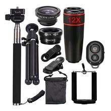 10 in1 Camera Mobile Phone Lens kit 12 X
