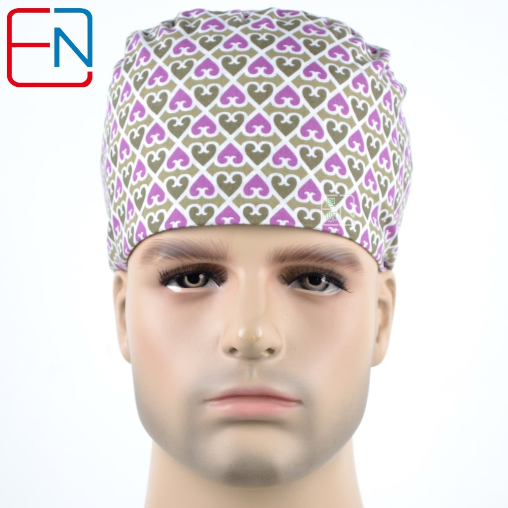 Hennar Unisex  Great Quality Surgical Caps  MEDICAL CAPS Dentist Caps Scrub Caps Size M Only