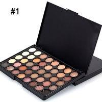 10 шт. 40 Цвета макияж глаз матовый блеск для век Diamond ShimmerEye праймер световой тени Для женщин подарок