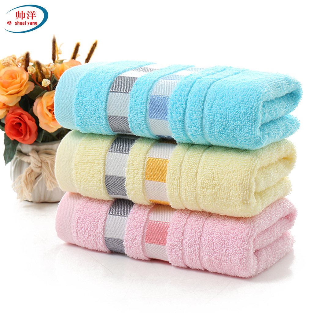 High quality cotton towel, thickening daily necessities, face towel, promotional gifts, gift towels, wholesale  custom made logo-in Storage Bags from Home & Garden
