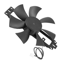 HOT!DC 18V Plastic Induction Cooker Brushless Cooling Fan|Induction Cooker Parts| |  -