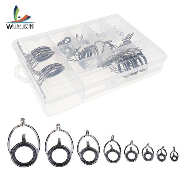 Oval Tip Repair Kit Eye Ceramic Ring Tackle Box Accessories Fishing Rod Guide