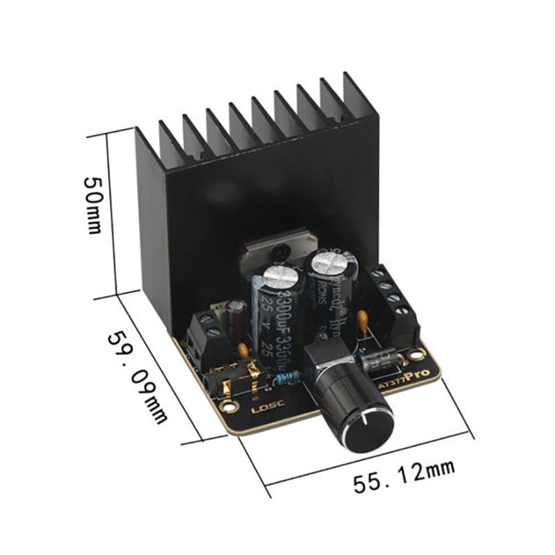 TDA7377 Speaker DC 12V Amplifiers Board 2x35W 2 Channel Car Power Amplifier Stereo Audio Amp Boards