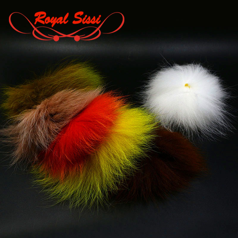 Arctic Fox Tail Hair NEW FREE SHIPPING